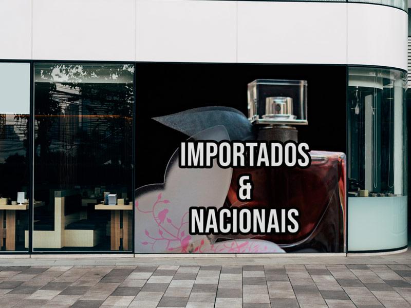Impressão de banner fachada
